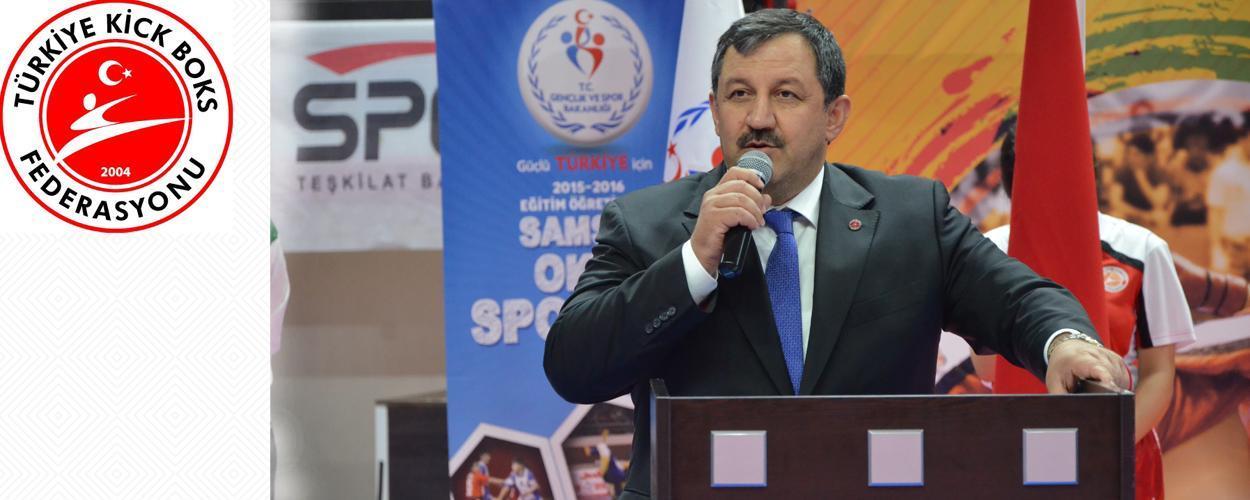 Federasyon Başkanımız Yeniden Salim KAYICI