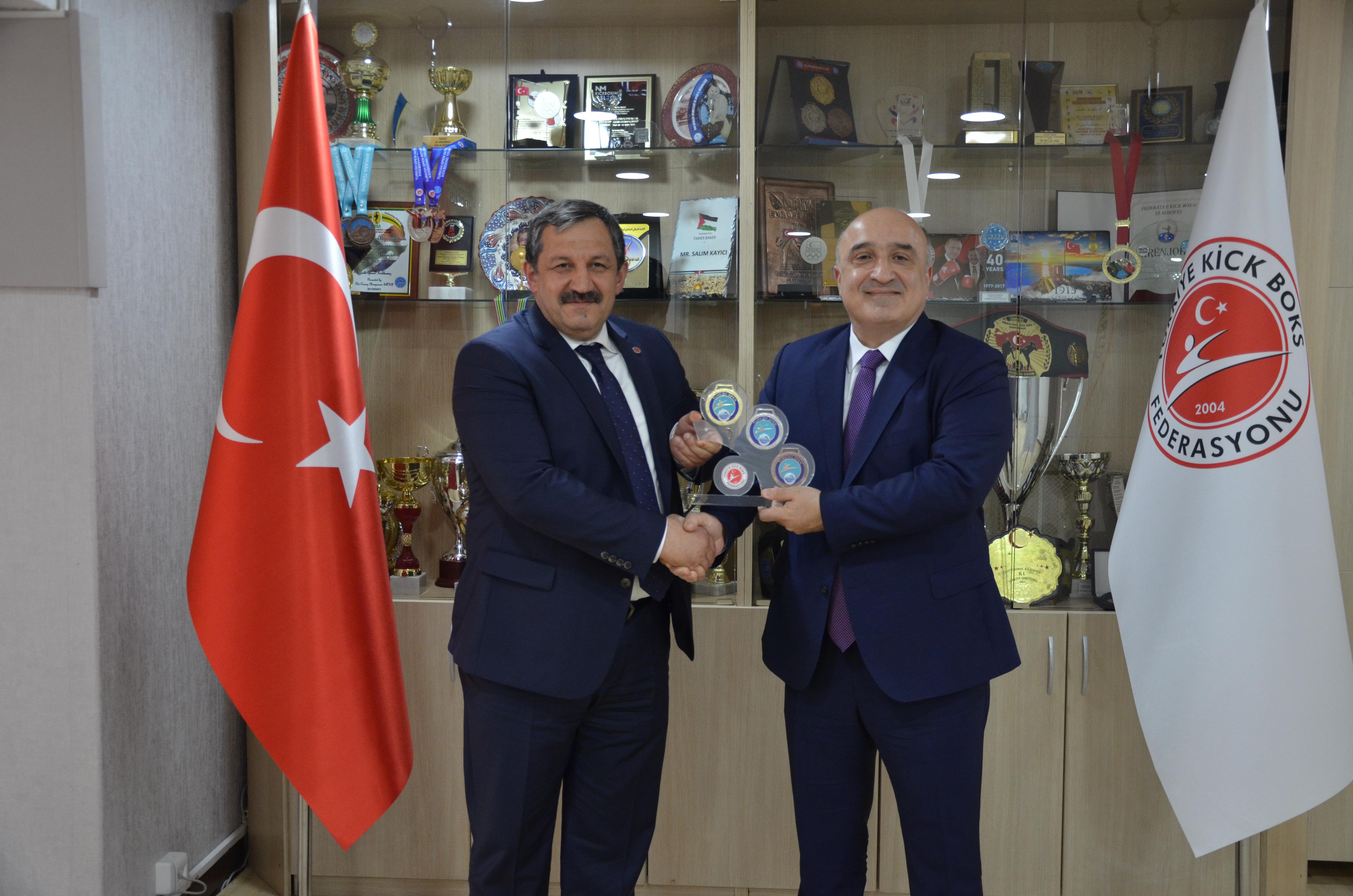 Prof. Dr. İsmail DEMİRCİOĞLU' ndan Federasyon Başkanımıza İade-i Ziyaret