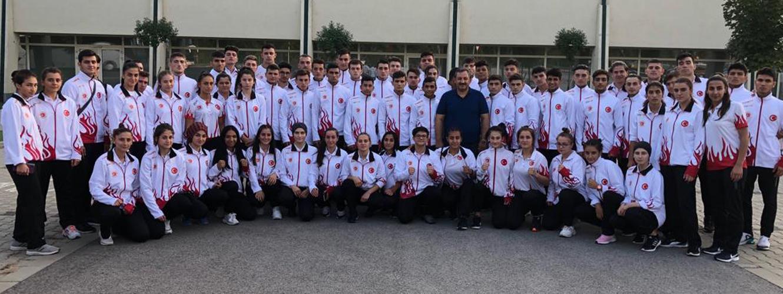 Gençler Avrupa Kick Boks Şampiyonasında Tarihi Başarı 10 Altın, 10 Gümüş, 28 Bronz Madalya