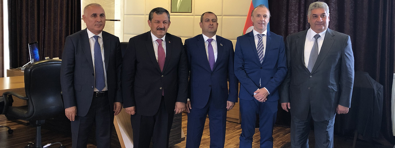 Federasyon Başkanımızdan Azerbaycan Ziyareti