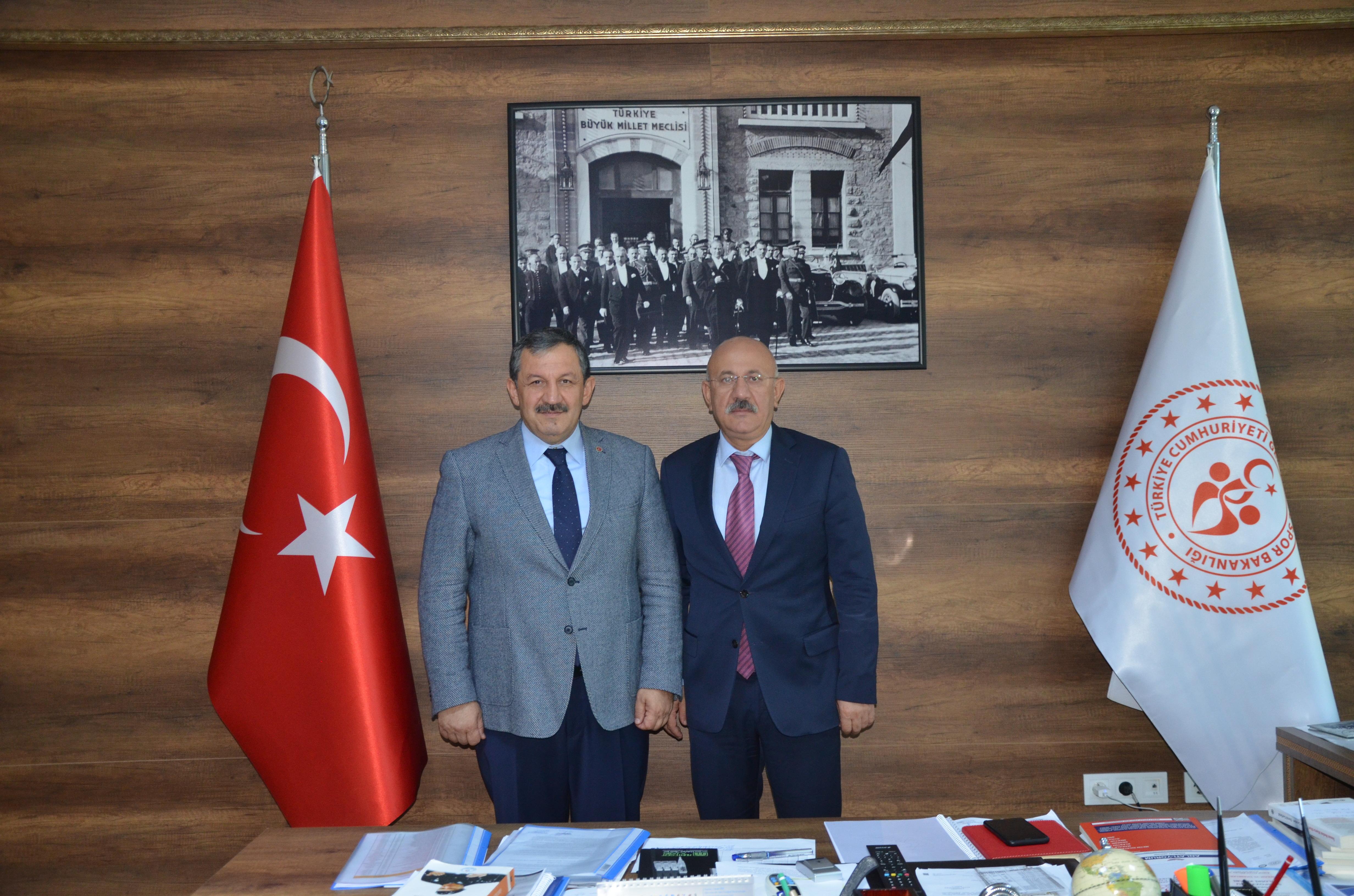Federasyon Başkanımızdan Antalya Gençlik ve Spor İl Müdürlüğüne ziyaret