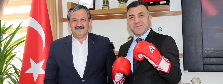 Federasyon Başkanımız Kriminal Dairesi Başkanını Ziyaret Etti