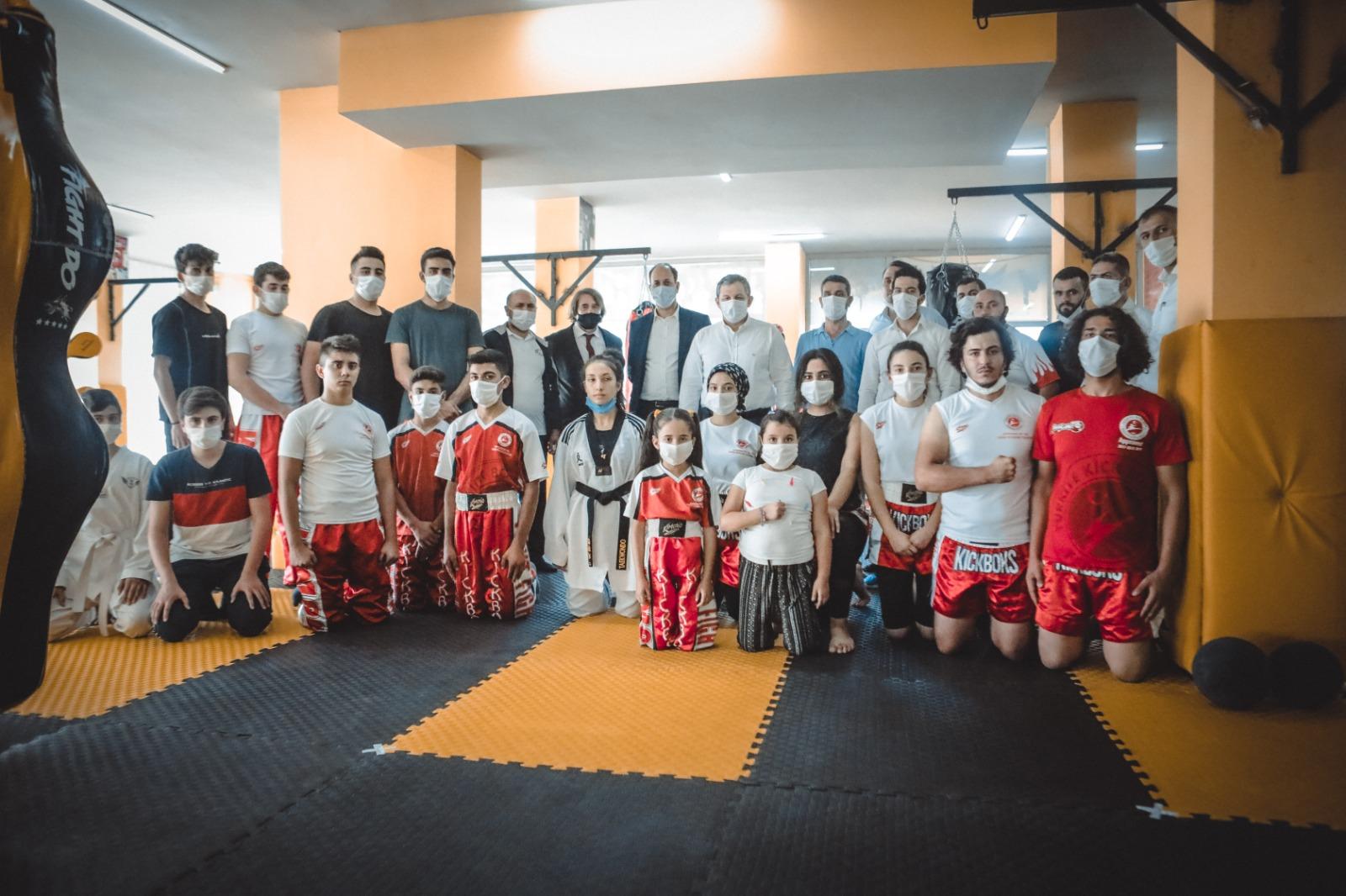 Osmaniye Kadıoğlu Spor Kulübü Açılış
