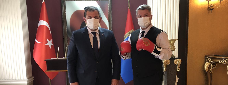 Federasyon Başkanımız Ankara İl Jandarma Komutanını Ziyaret Etti