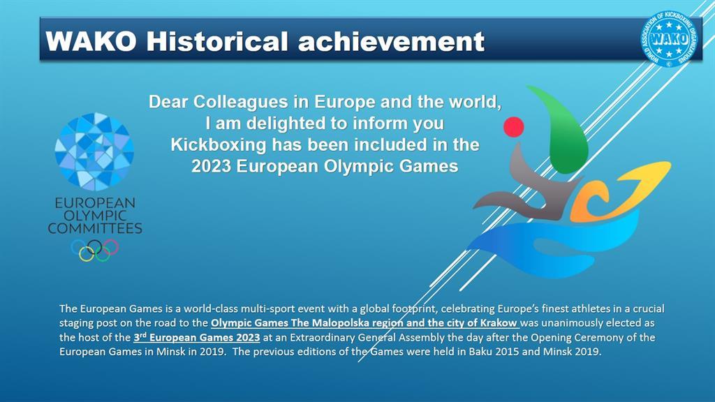 Kick Boks Avrupa Oyunlarında!