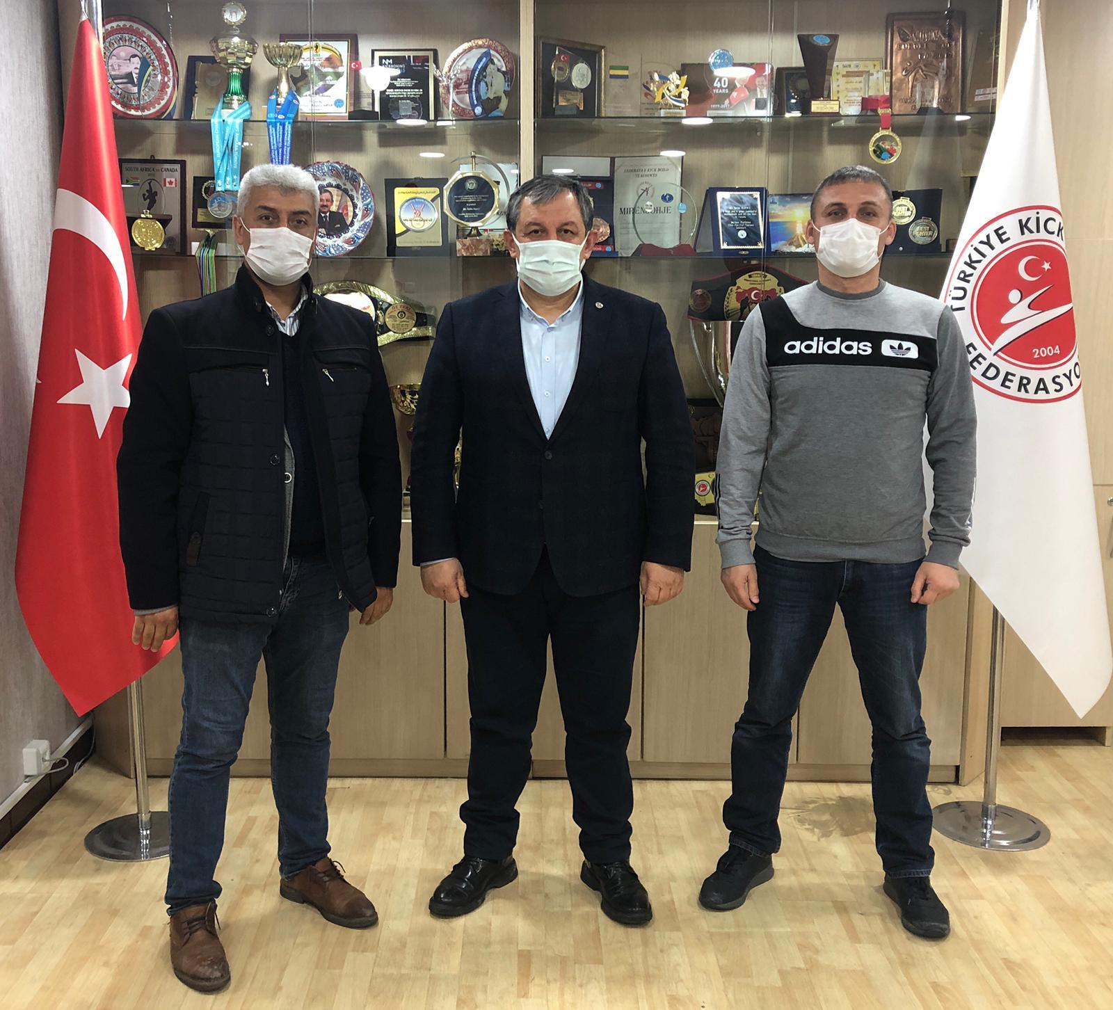 Aksaray İl Temsilcimiz ve İstanbul Antrenörümüzden Federasyon Başkanımıza Ziyaret