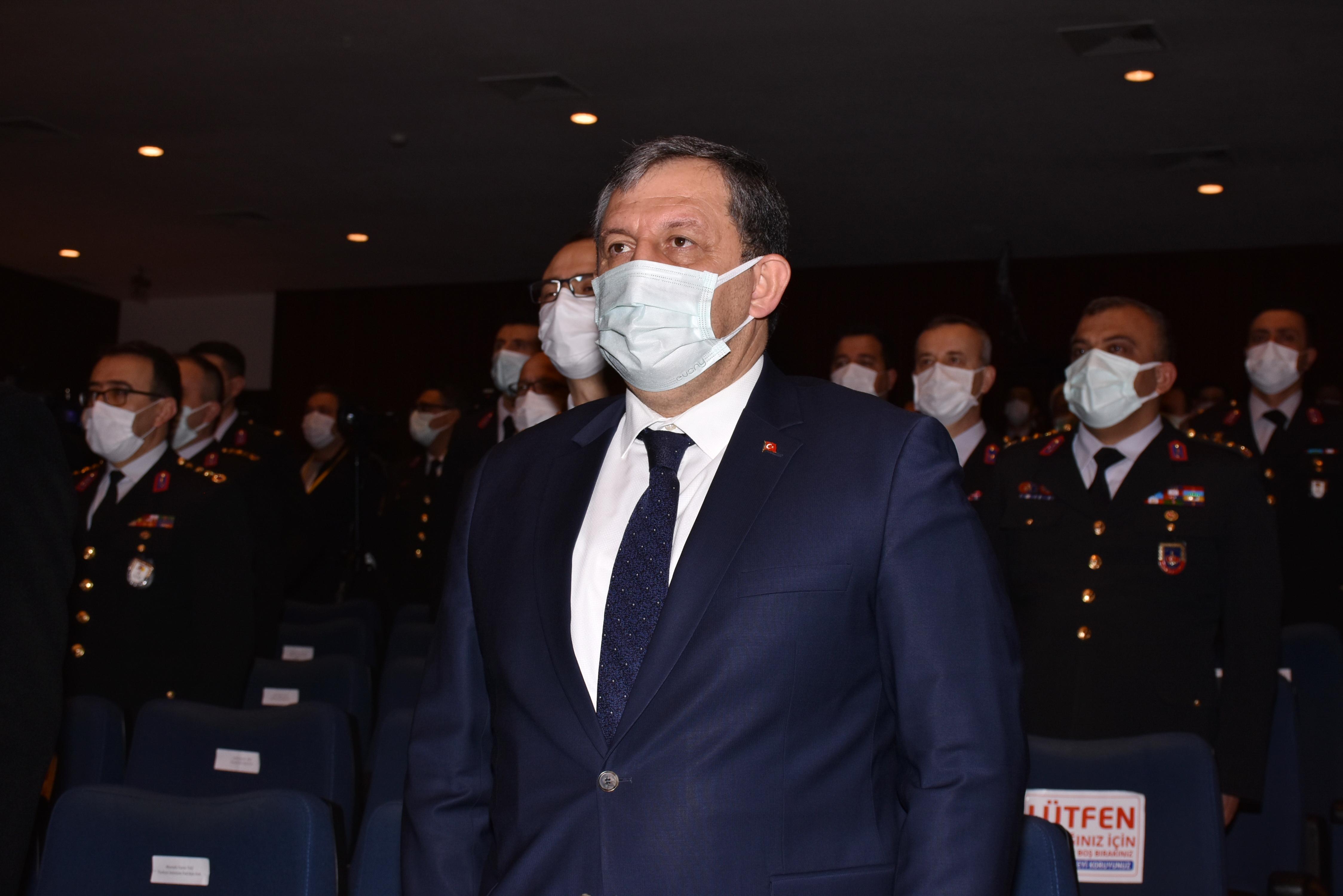 Federasyon Başkanımız Jandarma ve Sahil Güvenlik Akademisi Mezuniyet Töreninde