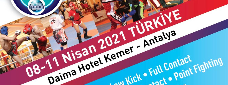 6. Uluslararası Türkiye Açık Kick Boks Avrupa Kupası...