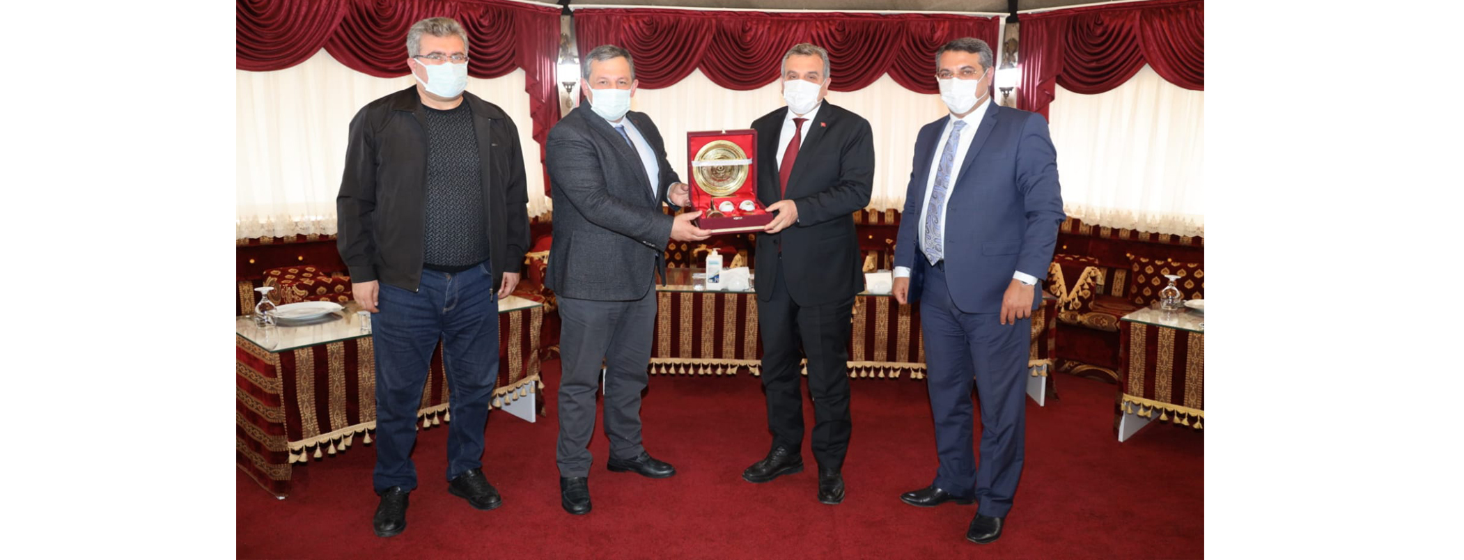 Federasyon Başkanımızdan Şanlıurfa Belediye Başkanına Ziyaret