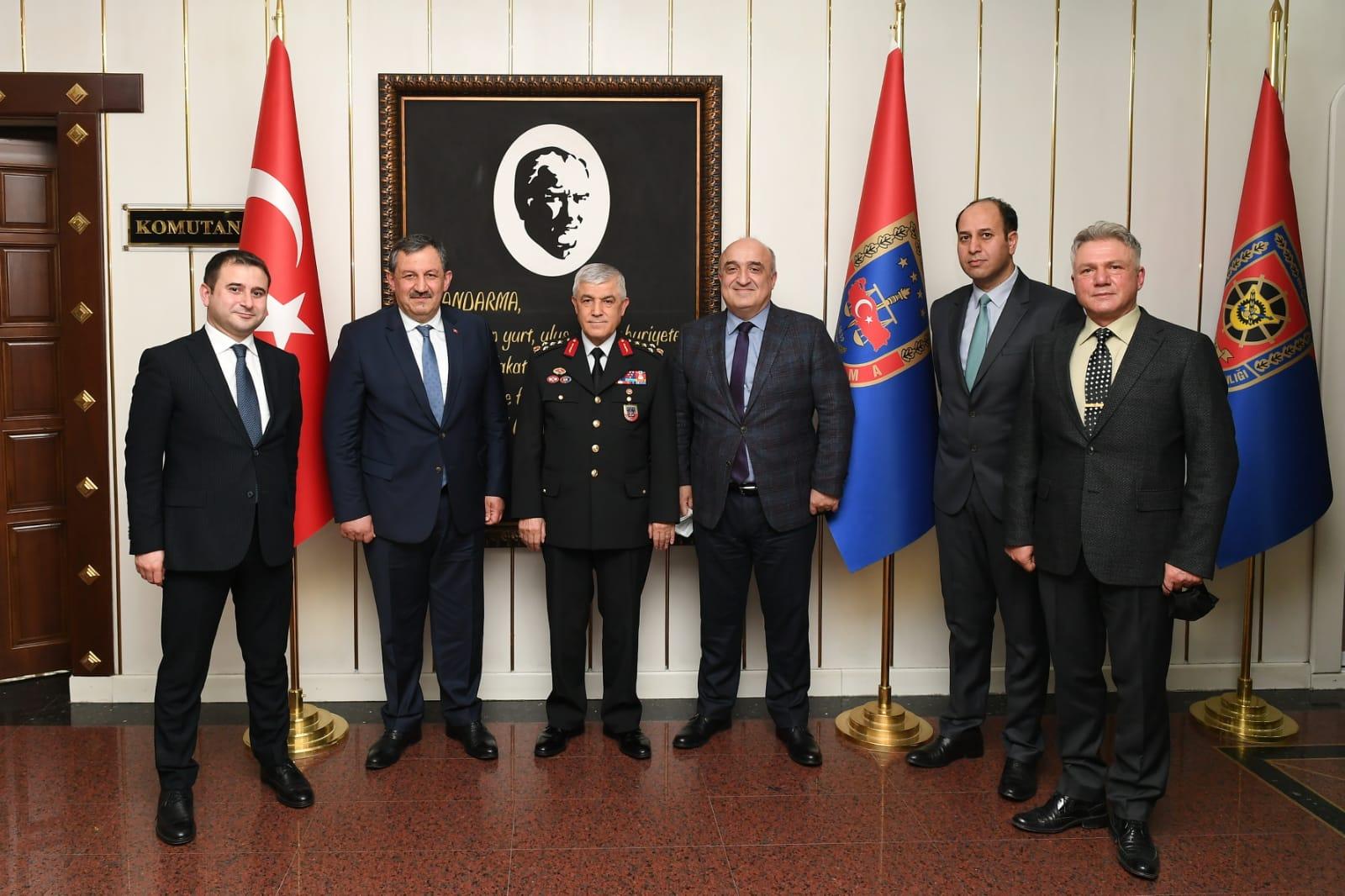 Federasyon Başkanımız Jandarma Genel Komutanını Ziyaret Etti