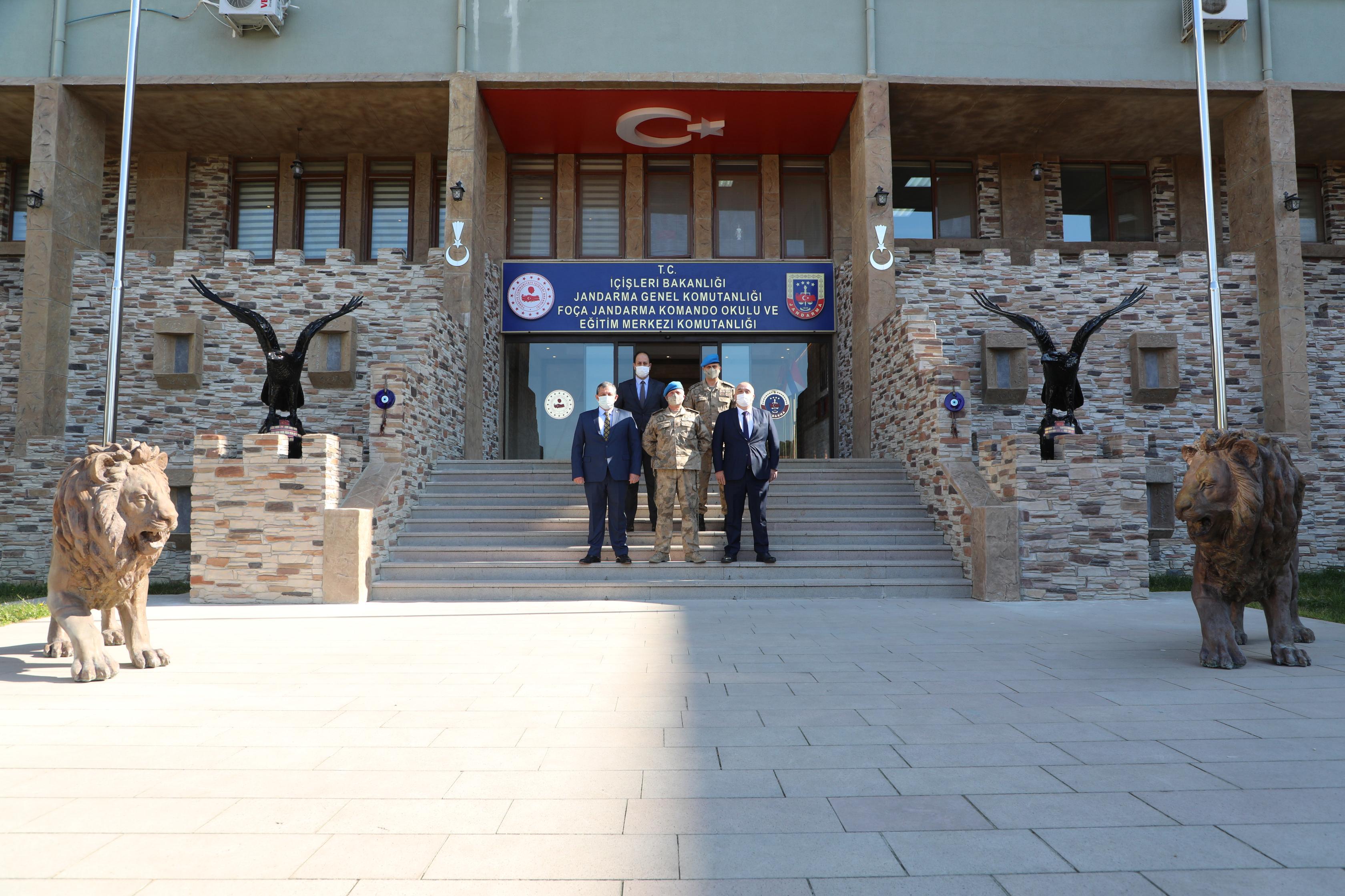 Foça Jandarma Komando Okulu ve Eğitim Merkezi Komutanlığı ile Federasyonumuz Arasında Protokol İmzalandı