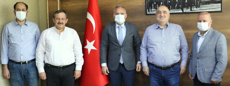 Federasyon Başkanımızdan Antalya Gençlik ve Spor İl Müdürüne Ziyaret