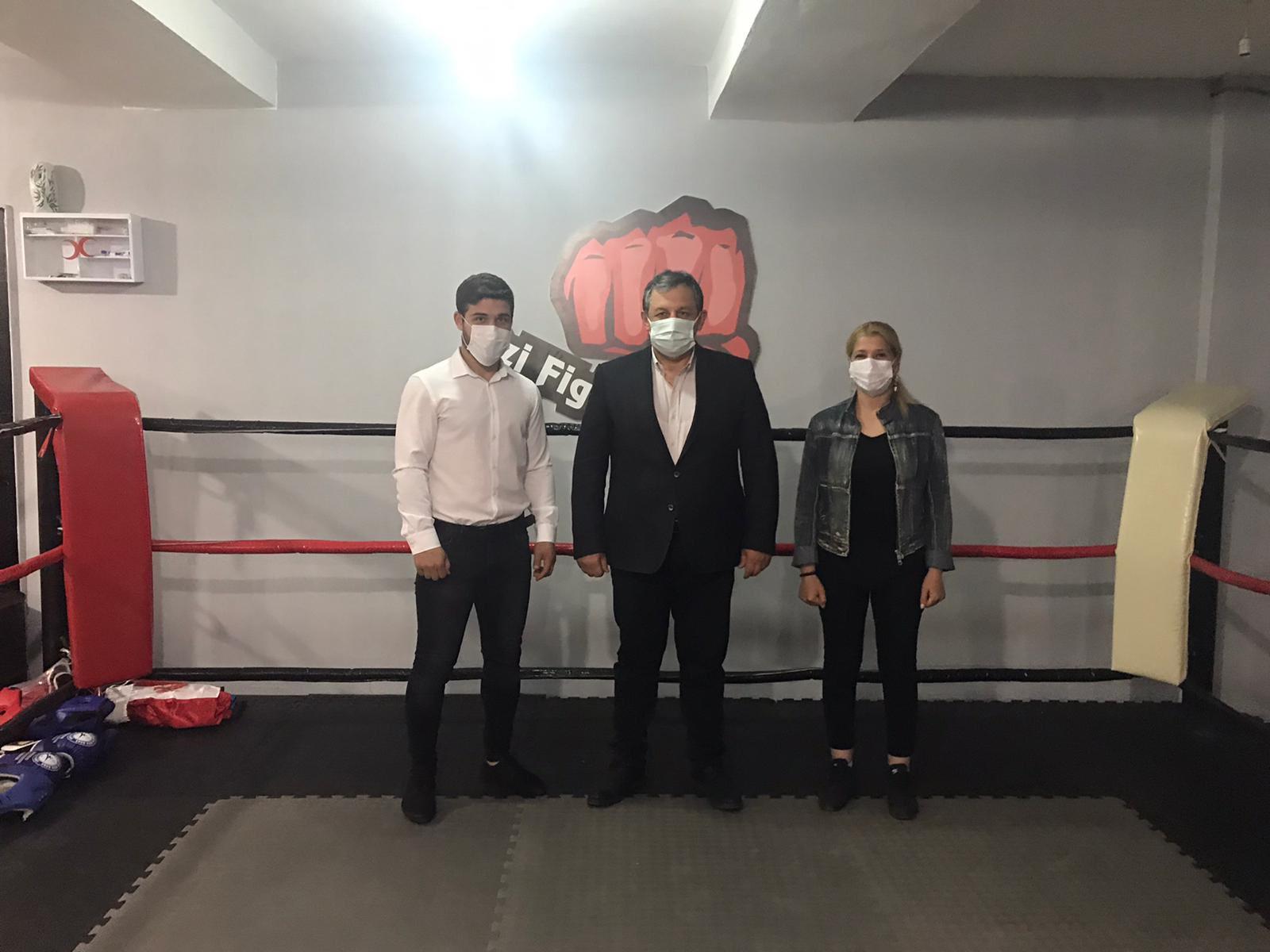 Federasyon Başkanımız Ozi Fight Club ı Ziyaret Etti