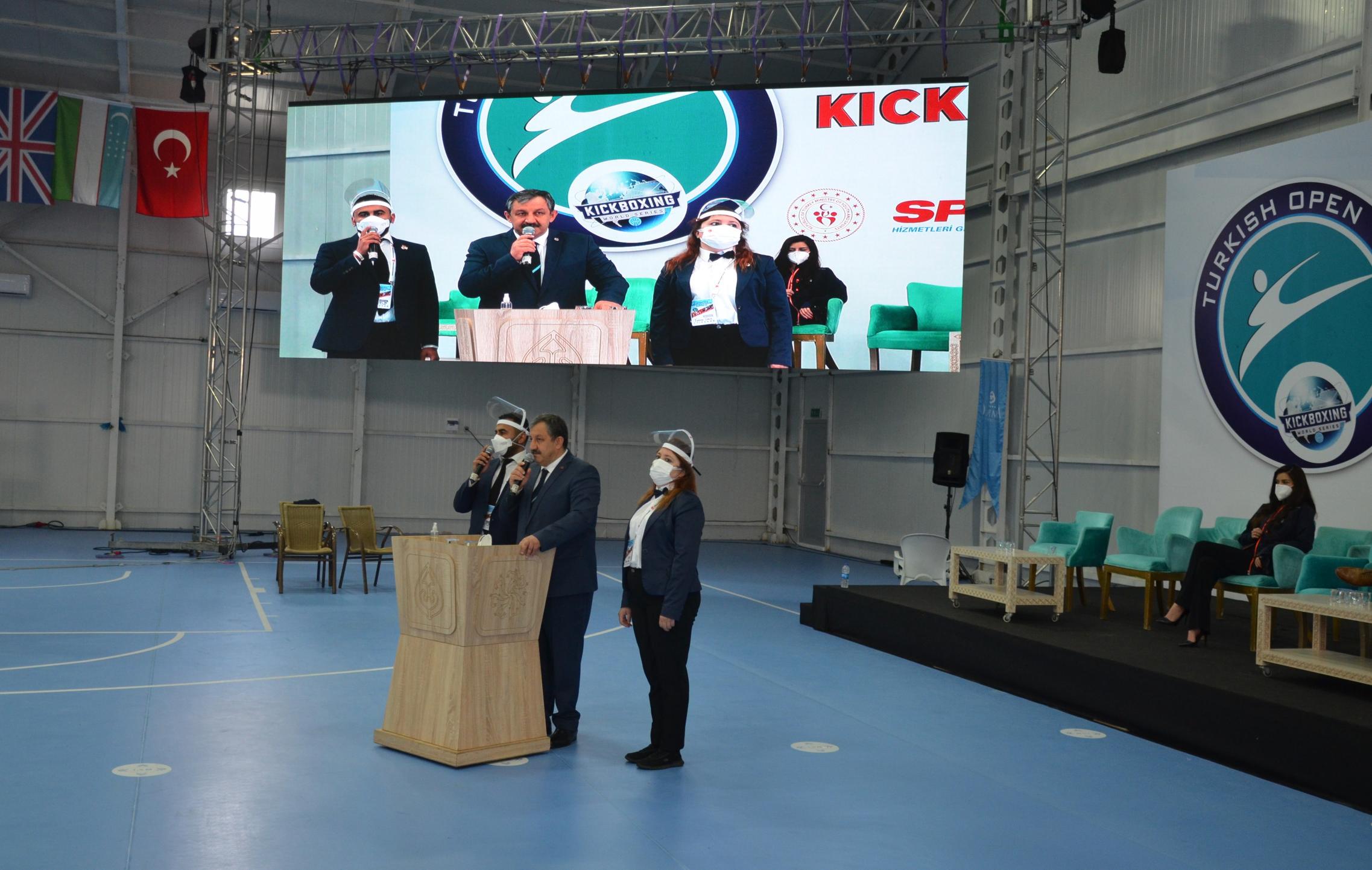 6. Uluslararası Türkiye Açık Kick Boks Avrupa Kupası Sona Erdi