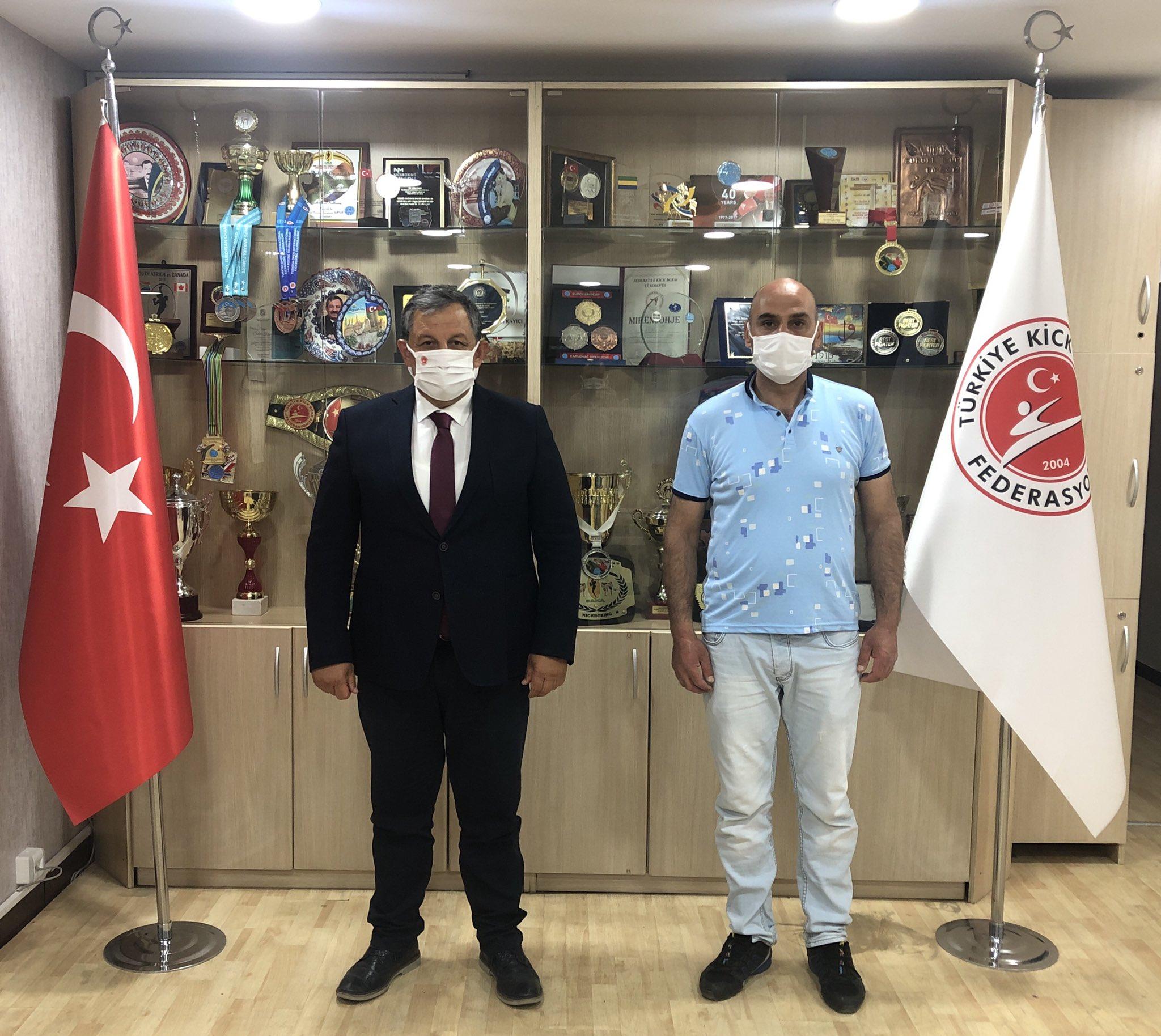 Mardin İl Temsilcimizden Federasyon Başkanımıza Ziyaret