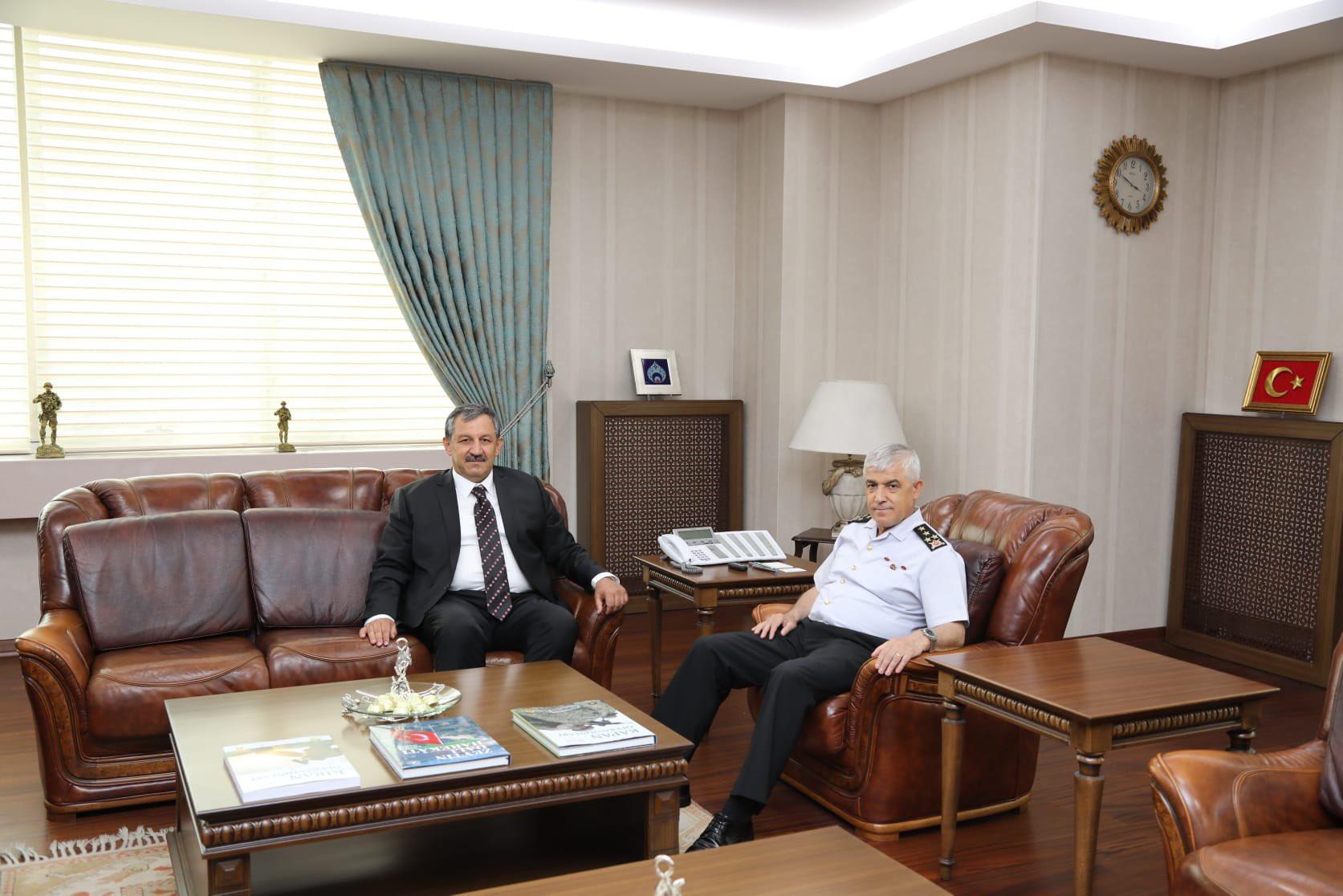 Federasyon Başkanımız Jandarma Genel Komutanımızı Ziyaret Etti