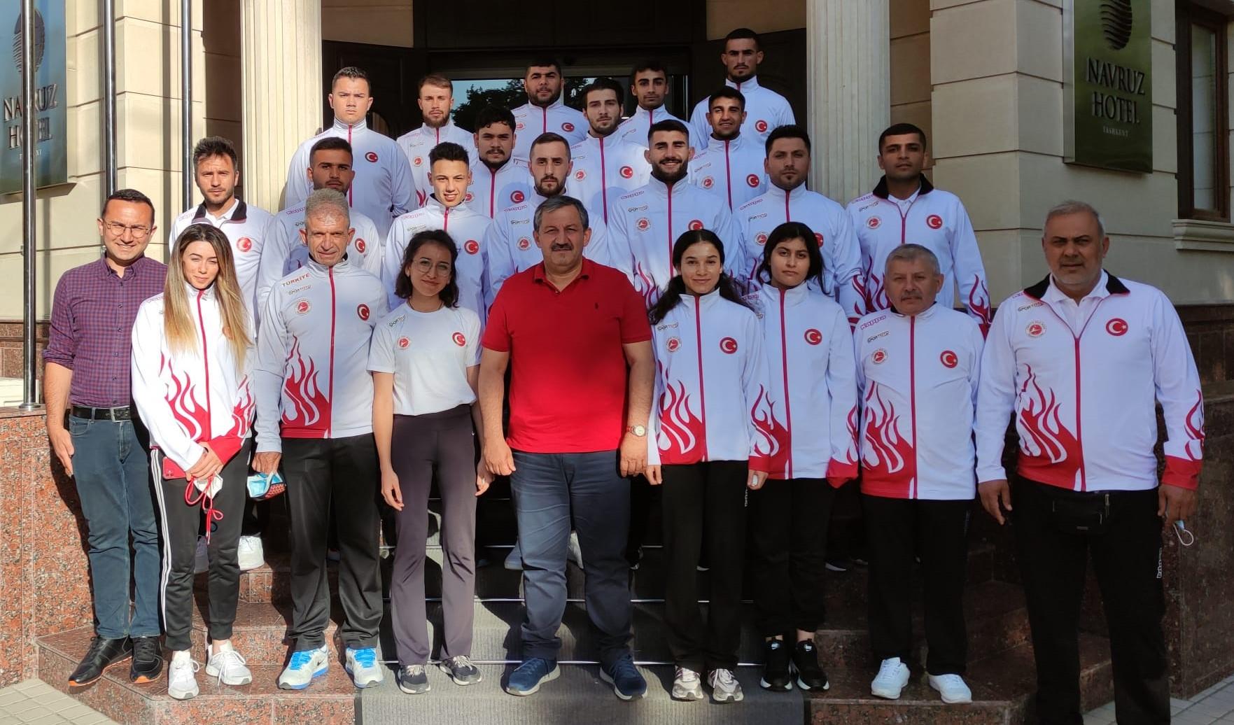 Milli Takımımız Uluslararası Açık Kick Boks Turnuvası İçin Özbekistan da