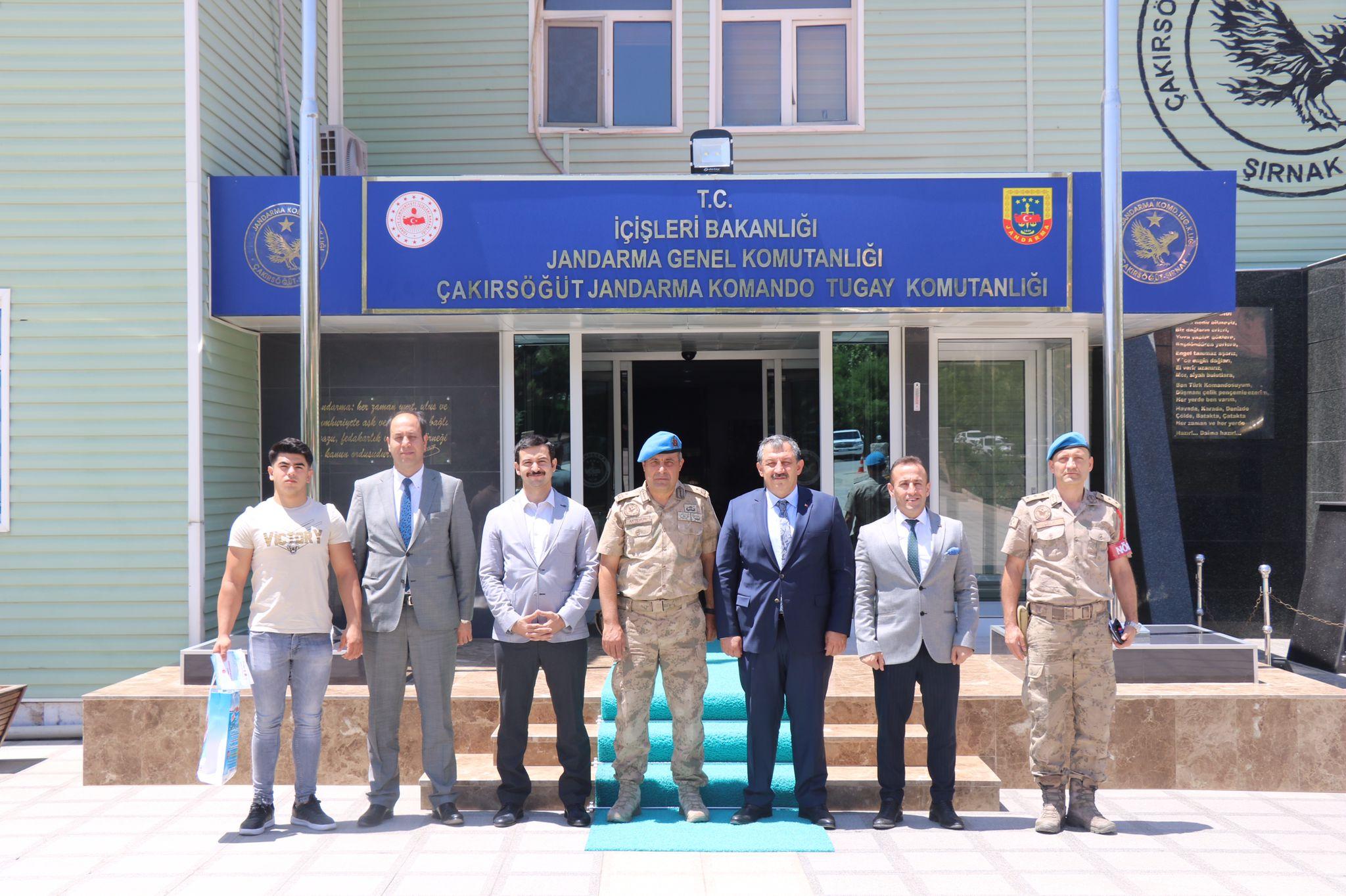 Federasyon Başkanımız Çakırsöğüt Jandarma Komando Tugayını Ziyaret Etti
