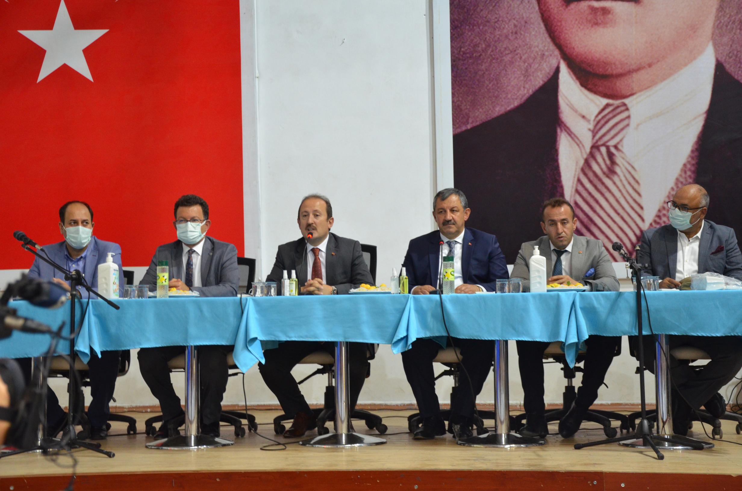 Teknik Toplantı Şırnak Valisinin Katılımıyla Yapıldı