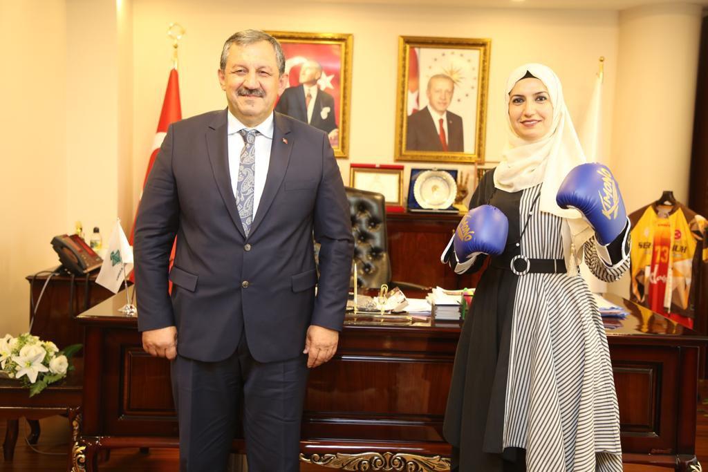 Federasyon Başkanımız Şırnak Belediyesi Başkan Vekilini Ziyaret Etti