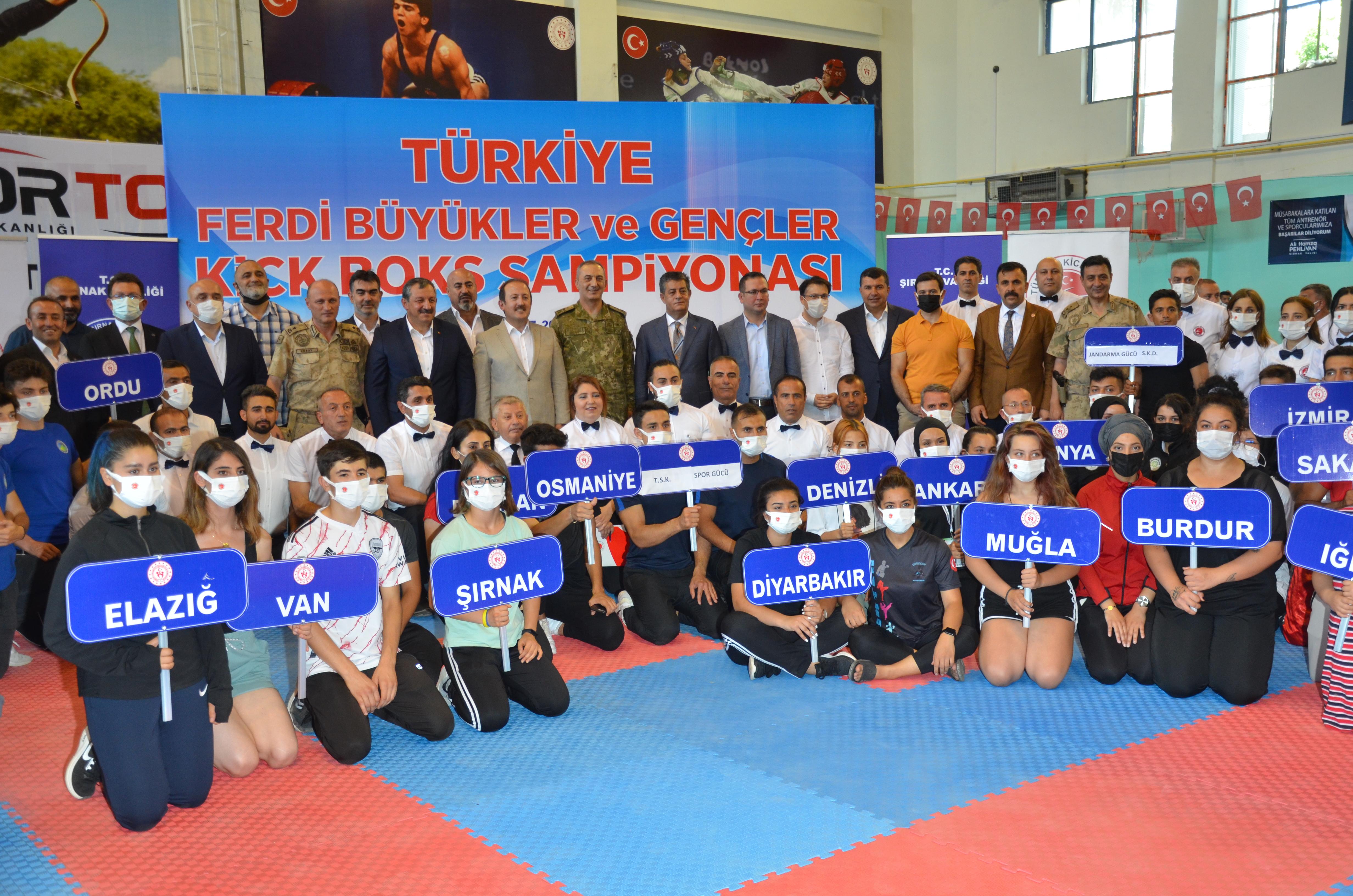 Türkiye Ferdi Kick Boks Şampiyonası Açılışı