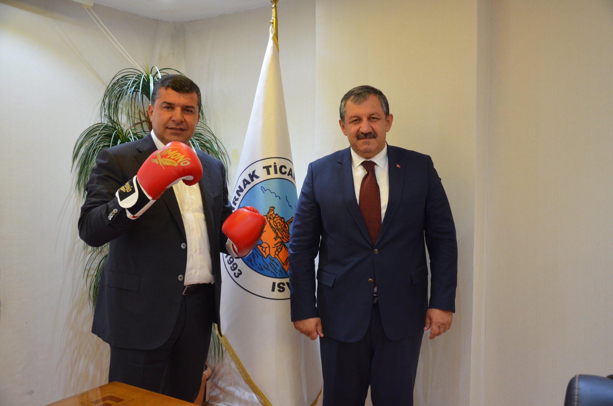 Federasyon Başkanımızdan Şırnak STO Başkanına Ziyaret
