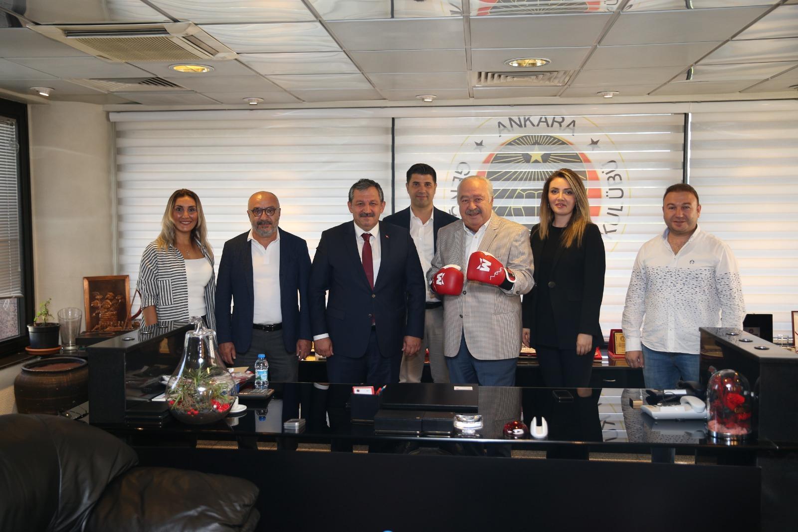 Federasyon Başkanımız Gençlerbirliği Spor Kulübünüz Ziyaret Etti