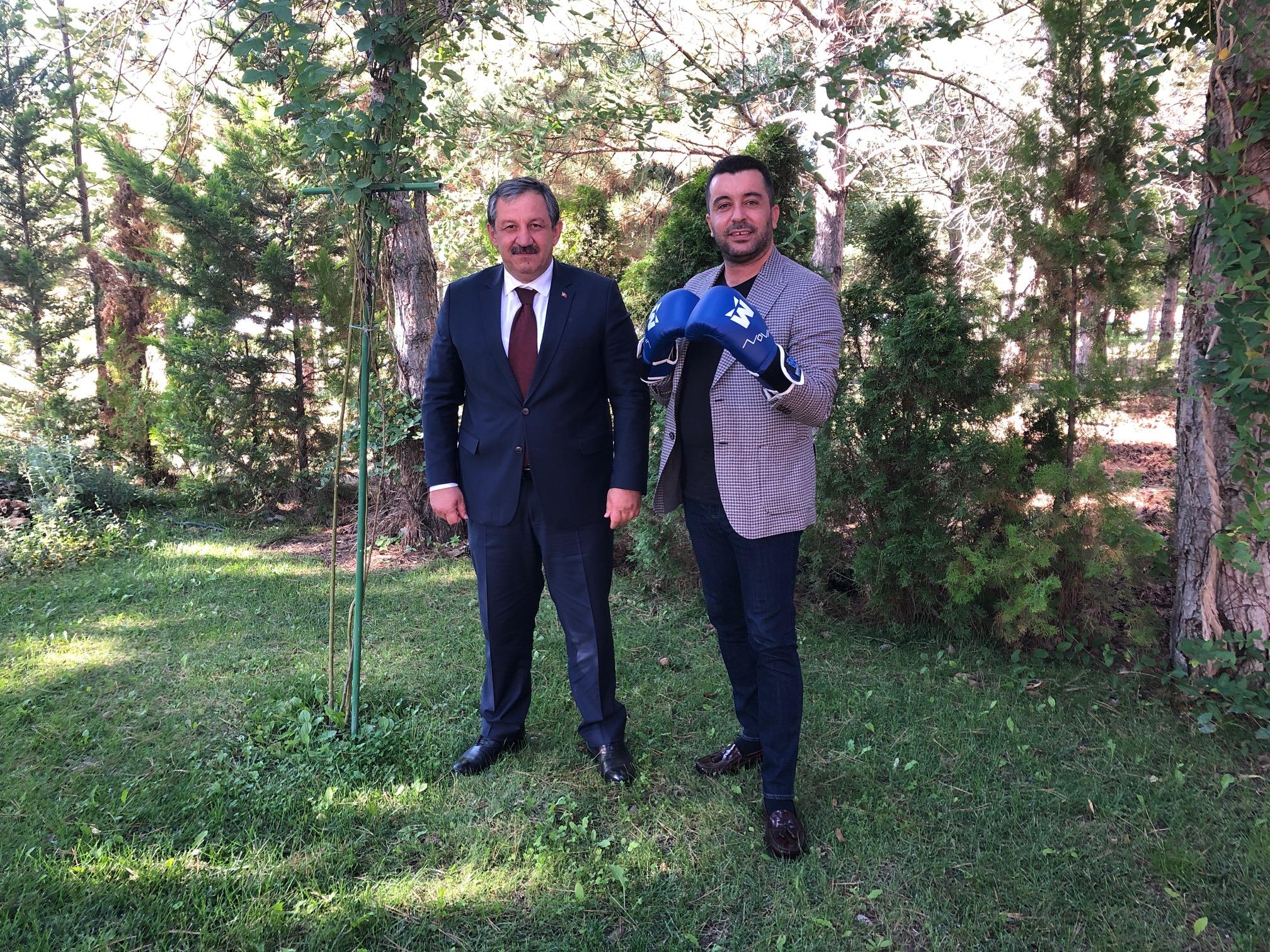 Federasyon Başkanımızdan TUSAŞ' a Ziyaret