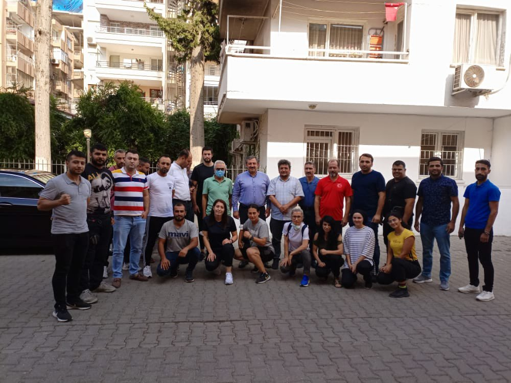 Federayon Başkanımızdan Adana Antrenör Kursuna Ziyaret
