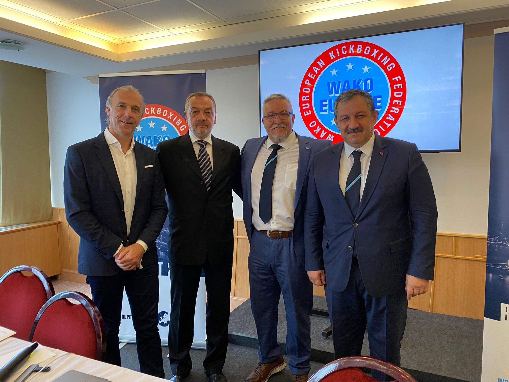 Federasyon Başkanımız Yeniden WAKO Avrupa Asbaşkanı