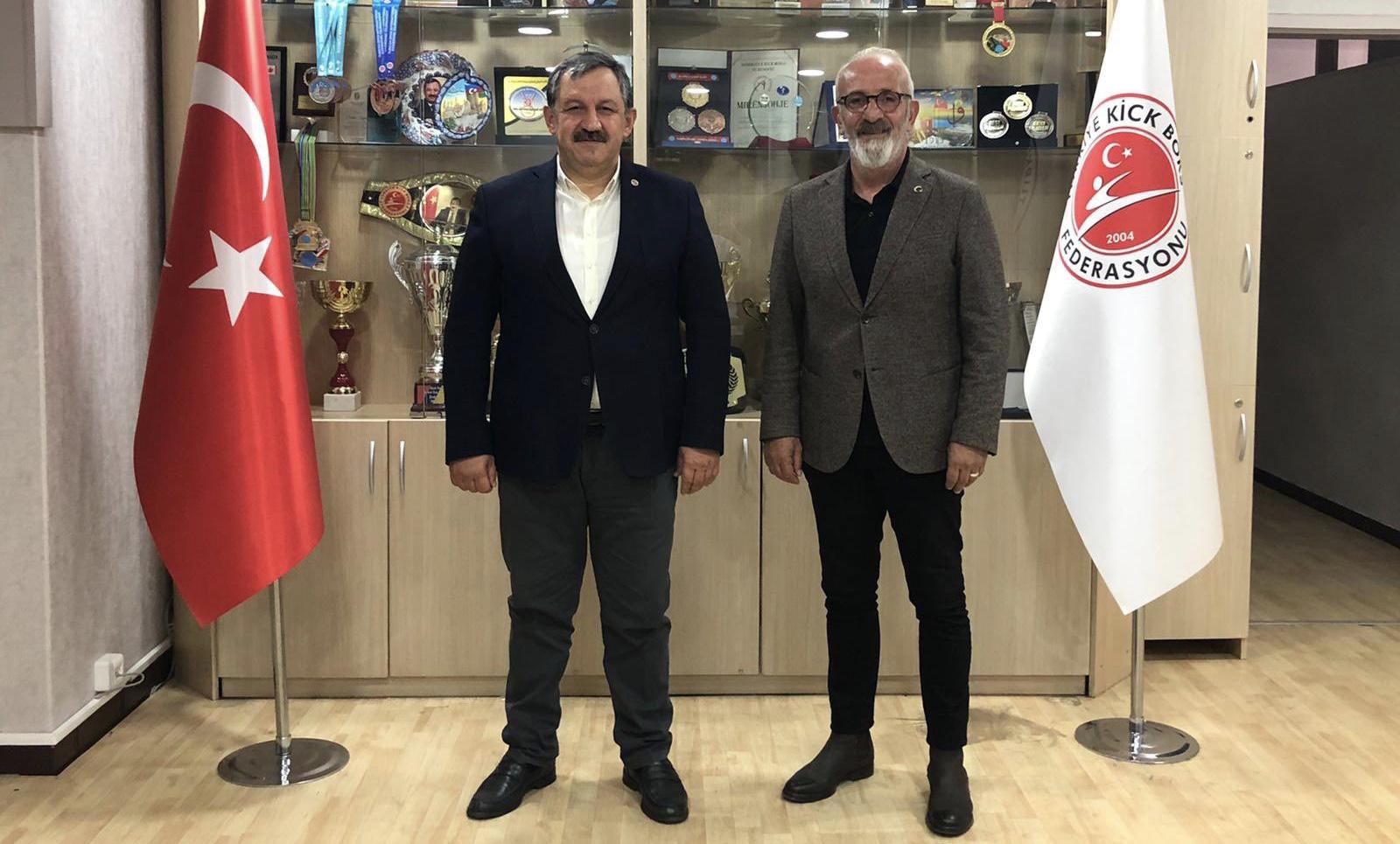 TSYD Ankara Şubesi Başkanı Sayın Ercan ATA' nın Başkanımızı Ziyareti