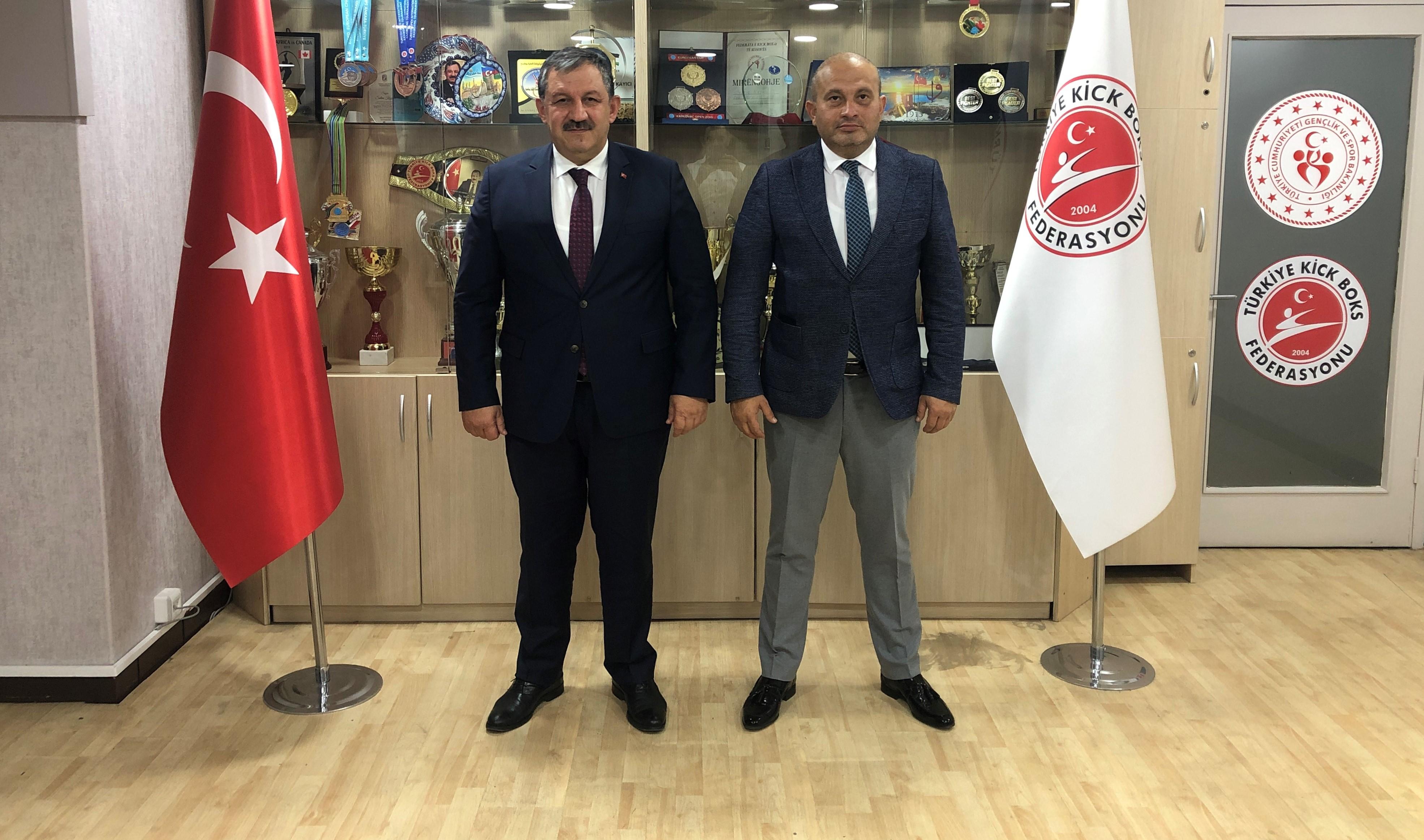 Gölbaşı Belediye Spor Kulübü Başkanı' ndan Federasyon Başkanımıza Ziyaret